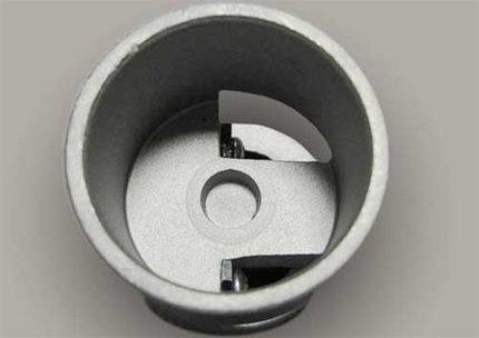 Coupe de tuyaux en polypropylène avec renfort