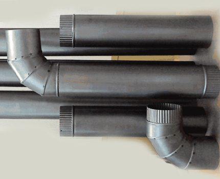 Metāla karstumizturīgas caurules un adapteri