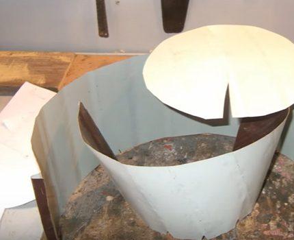 Prototype de pare-étincelles en papier