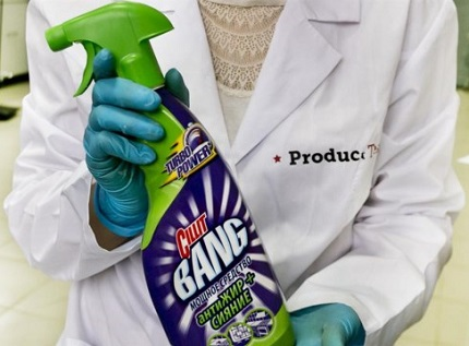 Household chemicals Cilit Bang