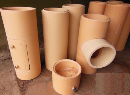 Pièces de cheminée en céramique