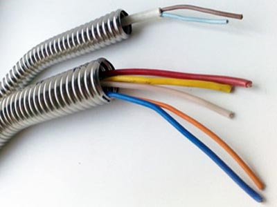 Electrical corrugations