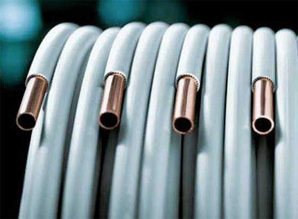 Isolation des tuyaux en cuivre