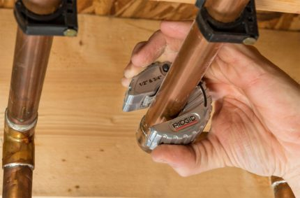A new type of pipe cutter called - scooter
