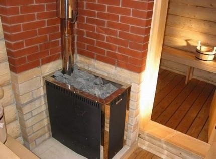 Installation de chauffage dans le bain