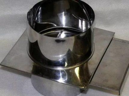 Robinet-vanne en acier
