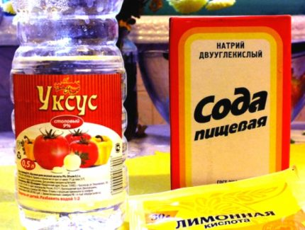 Soda and Vinegar