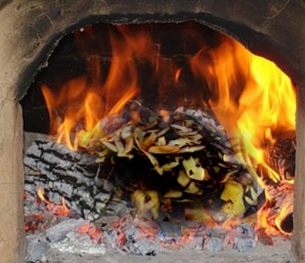 Brûler des pommes de terre