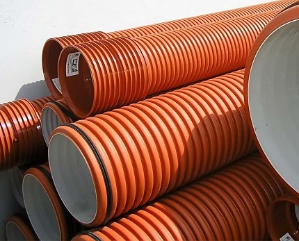 Corrugated PVC Pipes