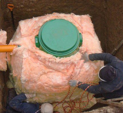 Tank insulation