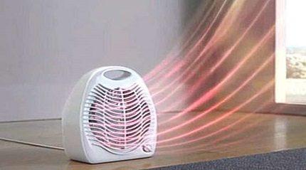 Le principe de fonctionnement du radiateur soufflant