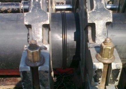 Butt welding of polyethylene pipes