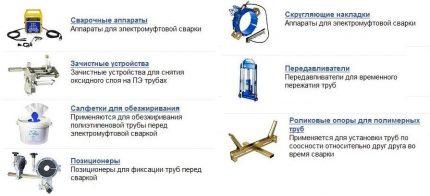 materials for socket welding