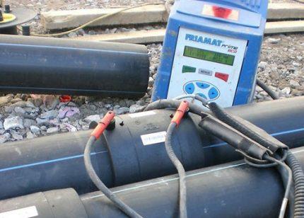 Elektrofuzinio suvirinimo aparatas