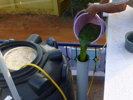Raw materials for biogenerator