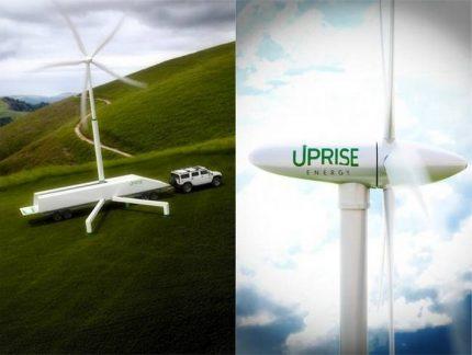Uprise Mobile Wind Turbine
