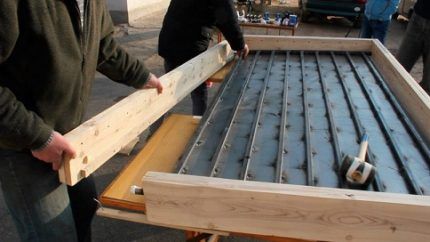 Making a solar collector