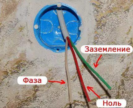 Dispositif de câble à trois conducteurs