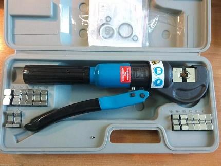Hydraulic Press Pliers in a Box