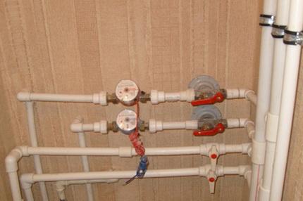 Arrangemang av vattenförsörjning