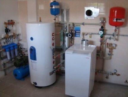 Boiler boiler system
