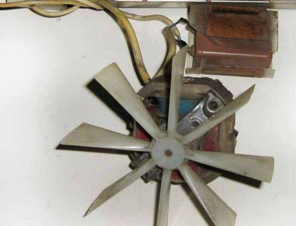 Radiateur soufflant à turbine axiale