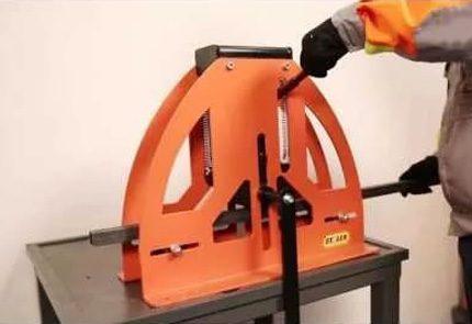 180 degree hydraulic pipe bender