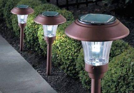 Charging street lamp