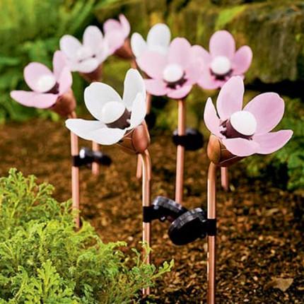 A harmonious addition to the flower garden