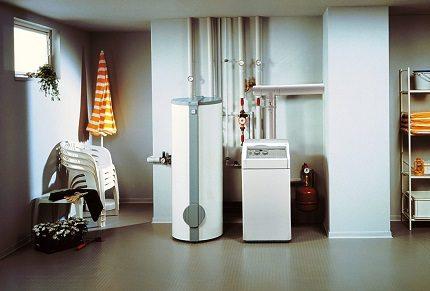 Fluid freeze protection equipment