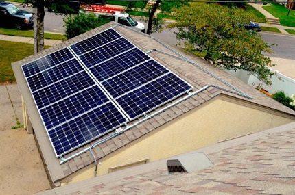 Solar panel element