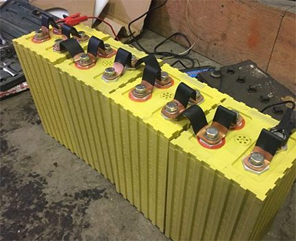 Working battery pack