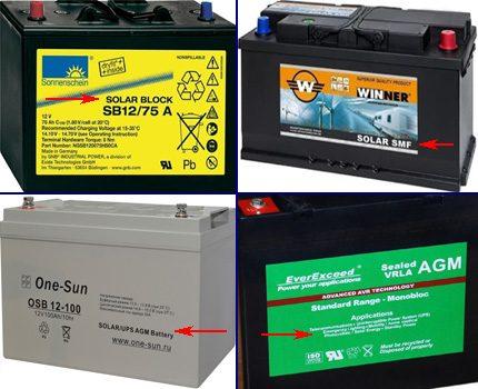 Alternative Energy Batteries