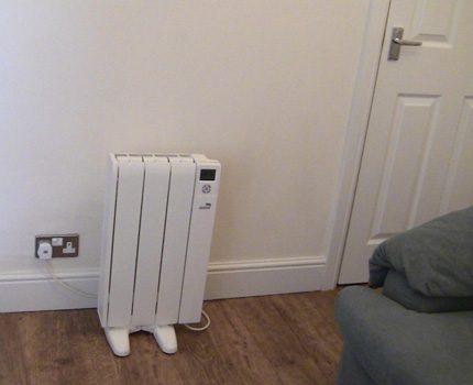 Electric radiators have a nice design