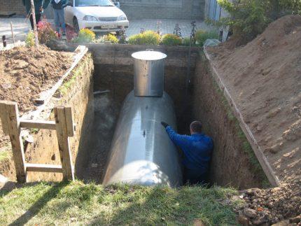 Réservoir souterrain