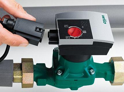 Self-regulating pump Wilo Yonos Pico