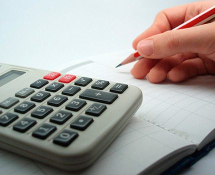 Quick calculation with online calculator