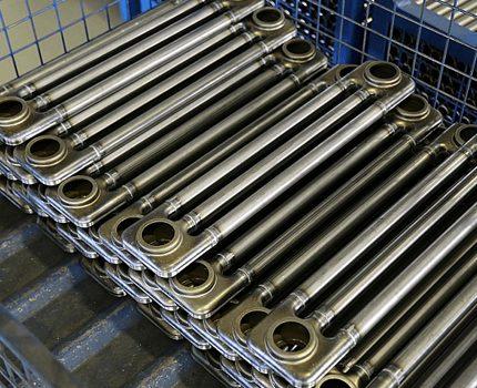 Sections de batterie tubulaire