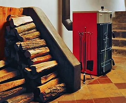 Cast iron boiler