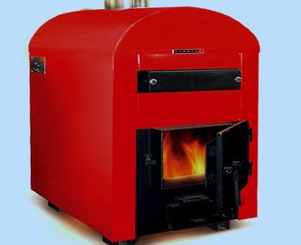 Steel boiler