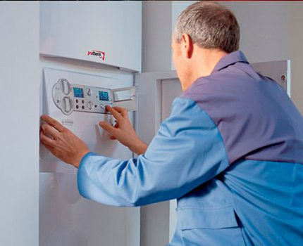Qualified boiler service