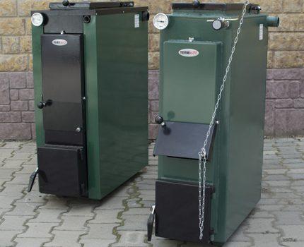 New heating equipment