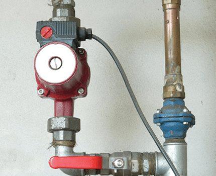 Wet rotor equipment