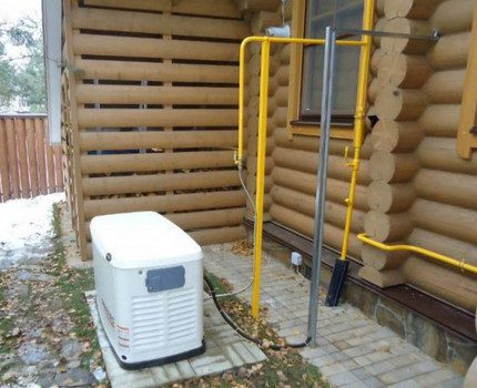 Gas generator for home