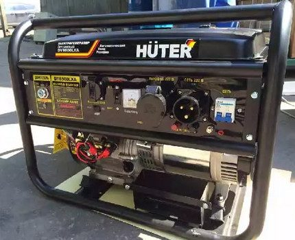 Household fuel generator