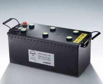 Battery for backup power system