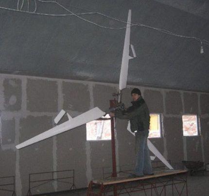 Vėjo ratų balansavimas