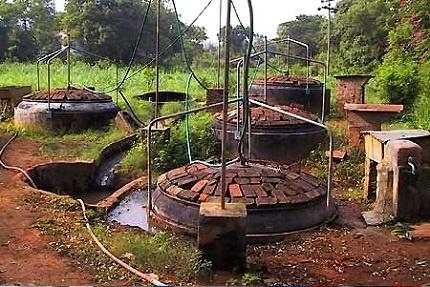 Deepening bioreactors into the ground