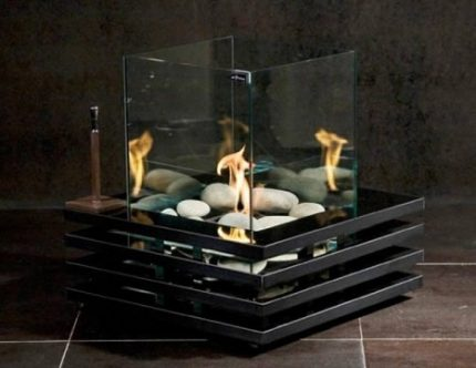 Multi Burner Biofireplace