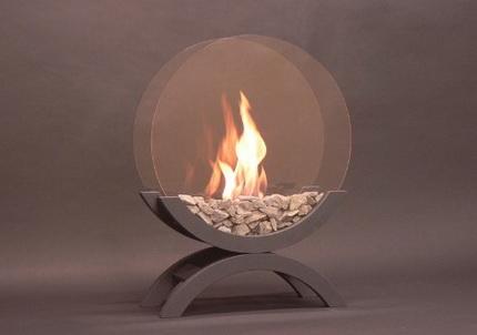Outdoor biofireplace